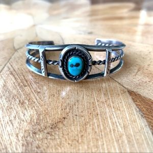 Jewelry - Vintage Native American Turquoise Cuff Bracelet